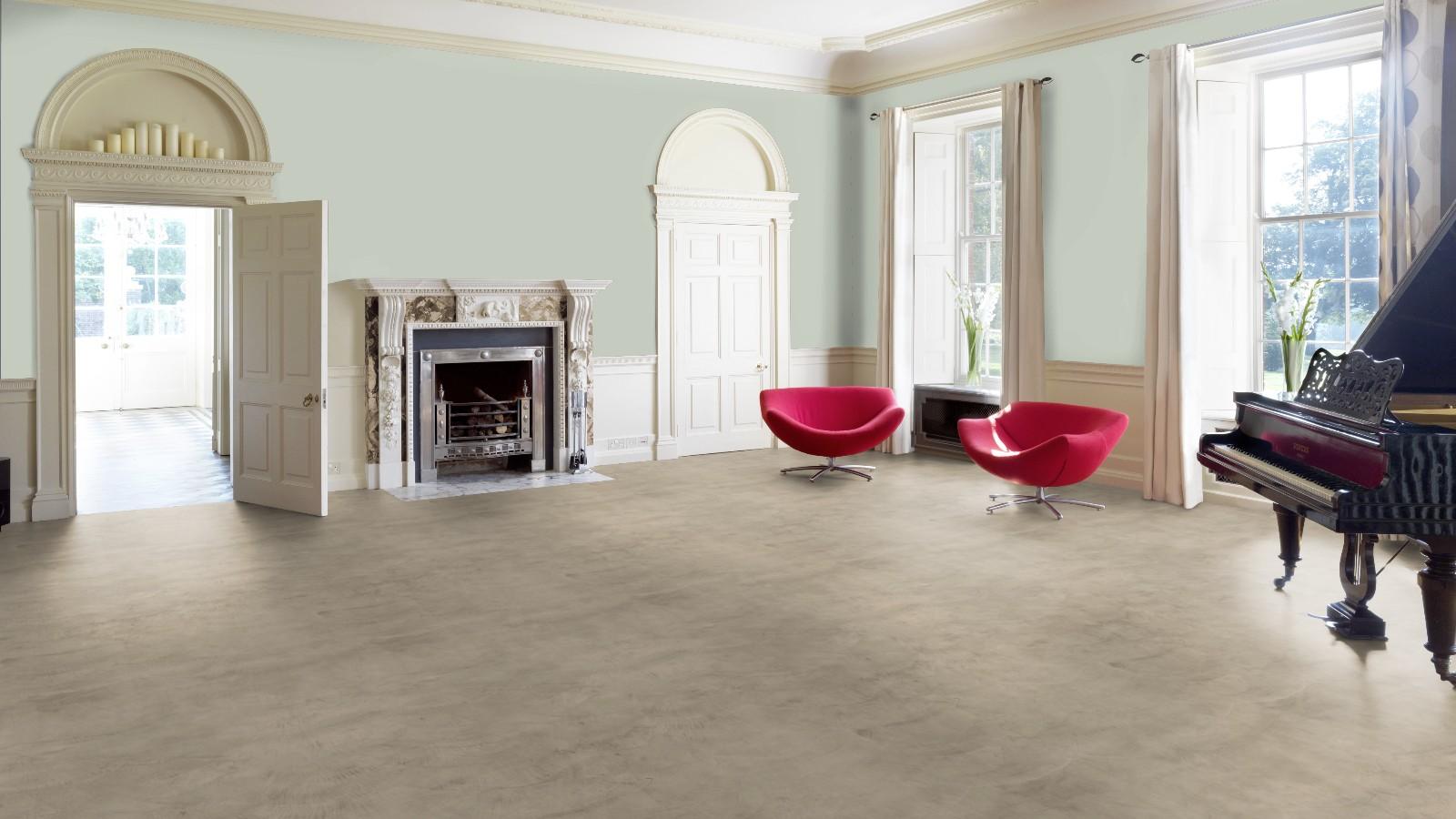 Natuurlijke beton cire vloer