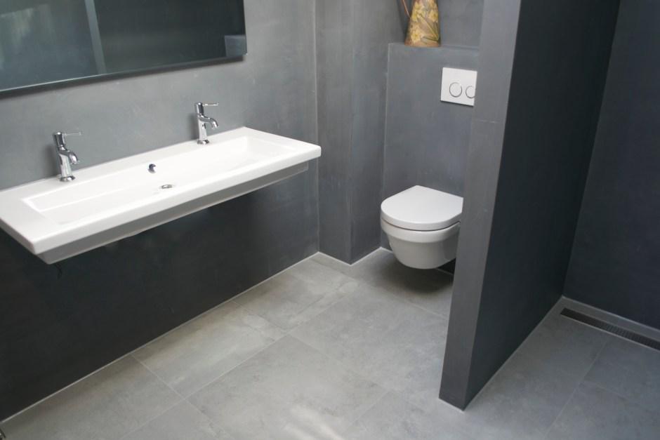 Uitgelezene Beton Cire badkamer m - Beton Ciré Showroom CE-63
