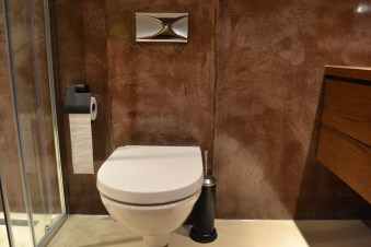 Beton Ciré toilet - Den Haag
