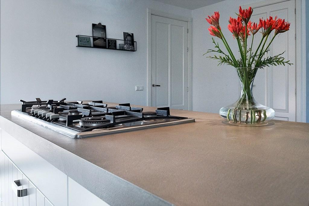 Keukenblad van Beton Ciré