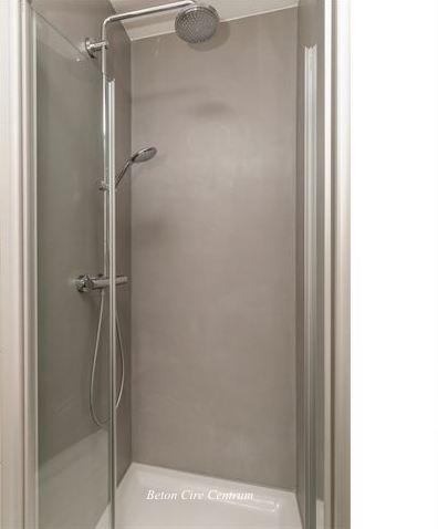 Beton Cire douche - Beton Cire Showroom
