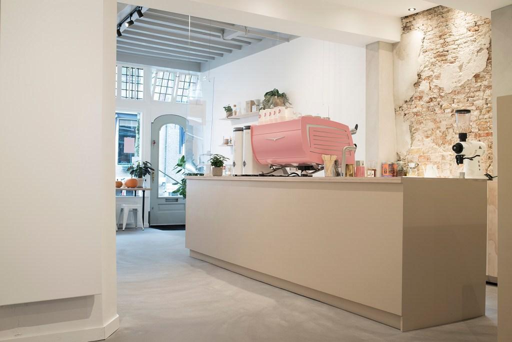 Beton Cire Vloer Coffee boutique Lot