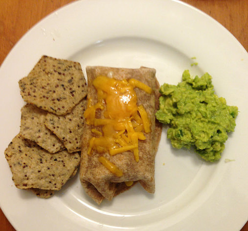 Cheesy Bean Burritos (Stocking the Freezer #1).