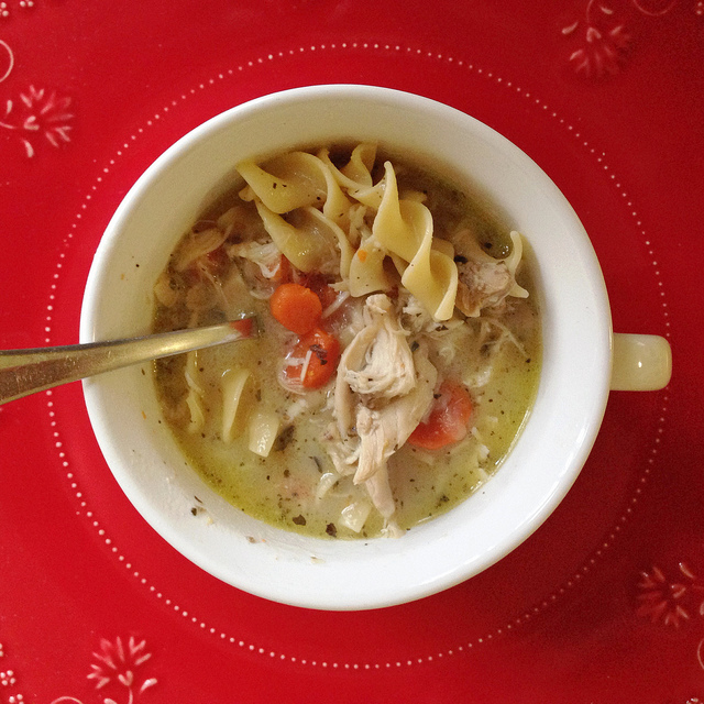 Chicken Noodle Soup (Stocking the Freezer #2).