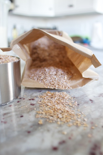 unprocessed wheat bran for bran muffins