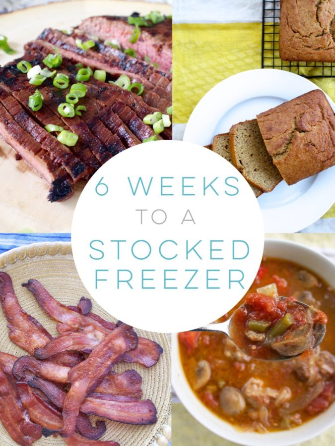 Six Weeks to a Stocked Freezer.