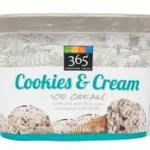 Whole Foods 365 Cookies & Cream ice cream