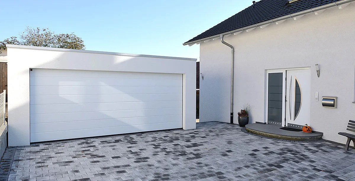 Betonfertiggaragen sind günstiger als gemauerte Garagen