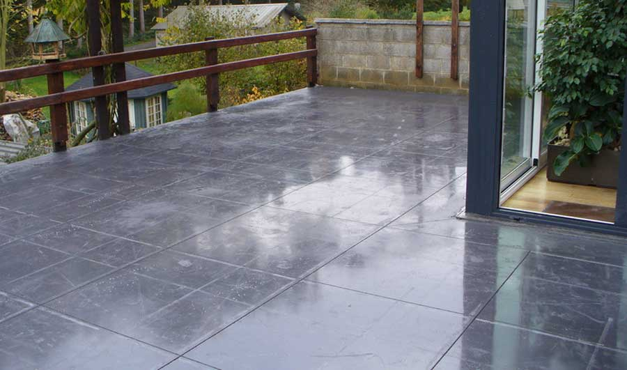 prix d une terrasse en beton cout au