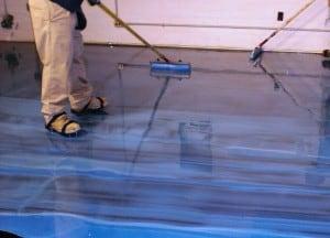 Plancher Mtallique Bton Surface Plancher Garage