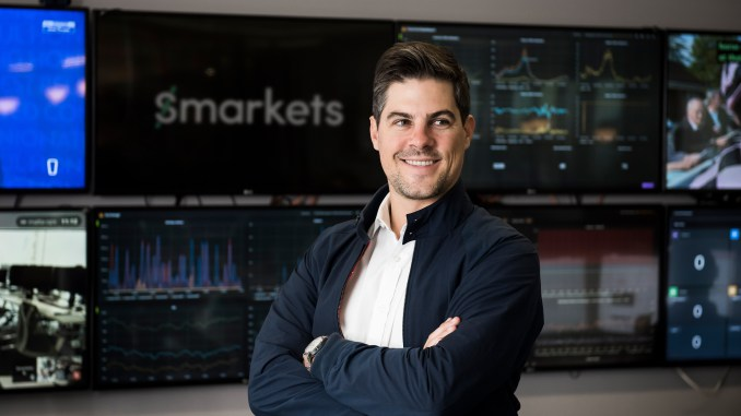 Smarkets CEO Jason Trost