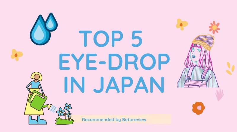 top 5 eye drop in japan