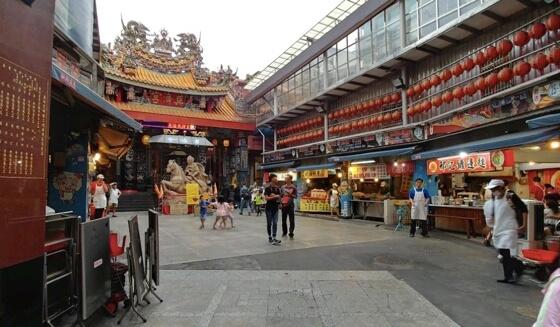 taiwan night market china town