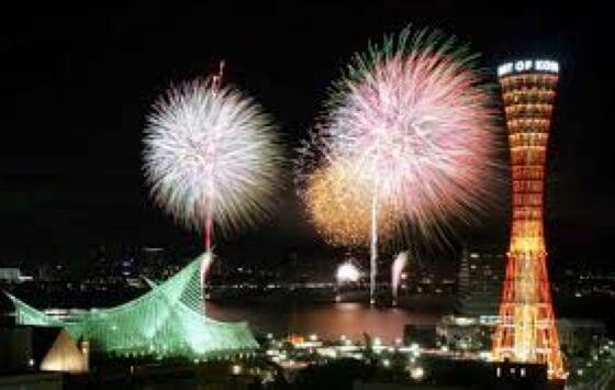 kobe firework festival