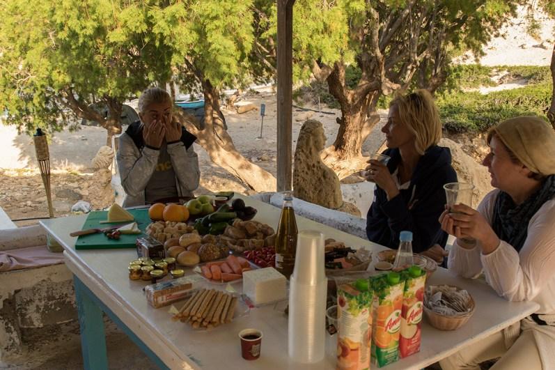Kreta, Vathi, Frühstück und Start in den Tag