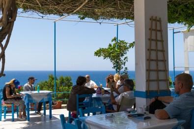 Kreta, Asterousia Berge, Offroad Tracks, Erholungspause im Kafenion