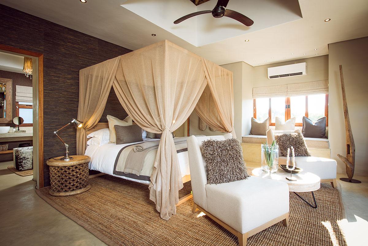 Sabi Sabi Bush-Lodge Luxury-Villa, Bedroom
