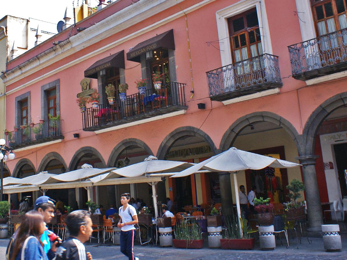 Puebla, Mexiko, Straßenszene