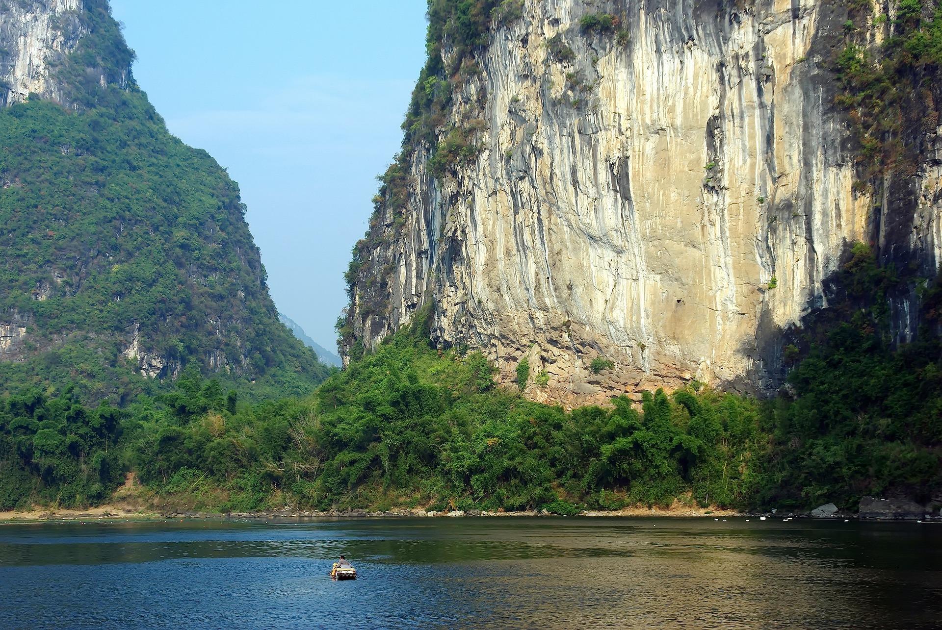 Yangshuo, Li-Fluss