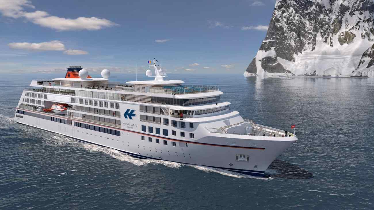 Hapag-Lloyd Kreuzfahrten Neubau Antarktis