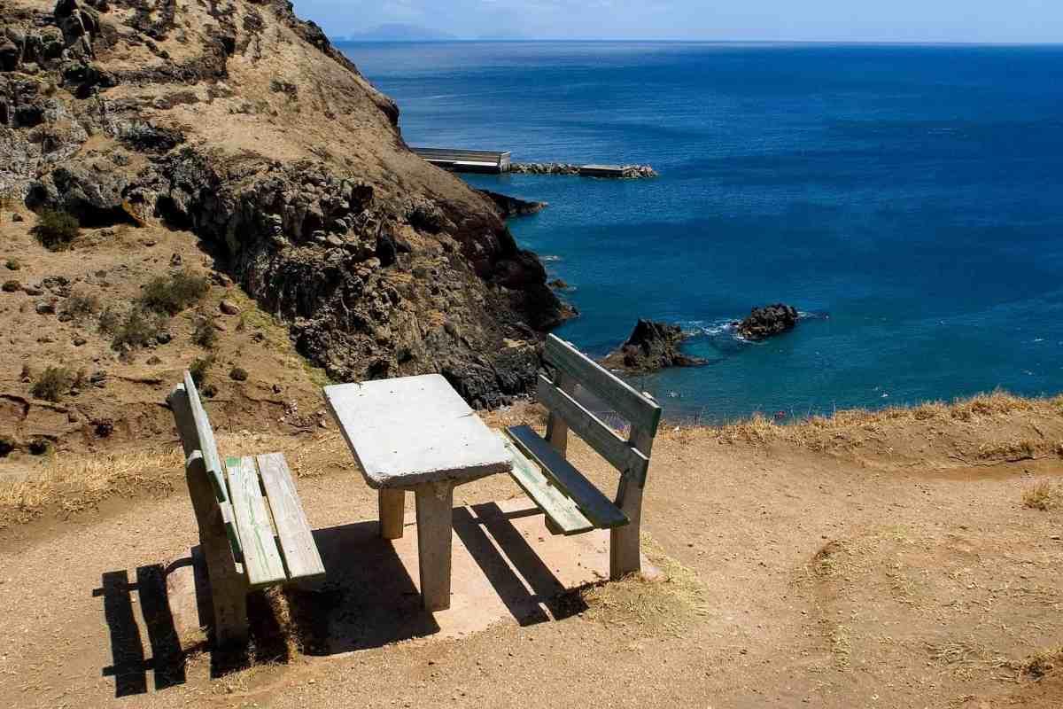 Wanderpause auf Madeira