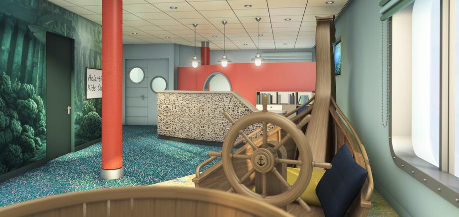 Der Kids-Club an Bord der Mein Schiff 6