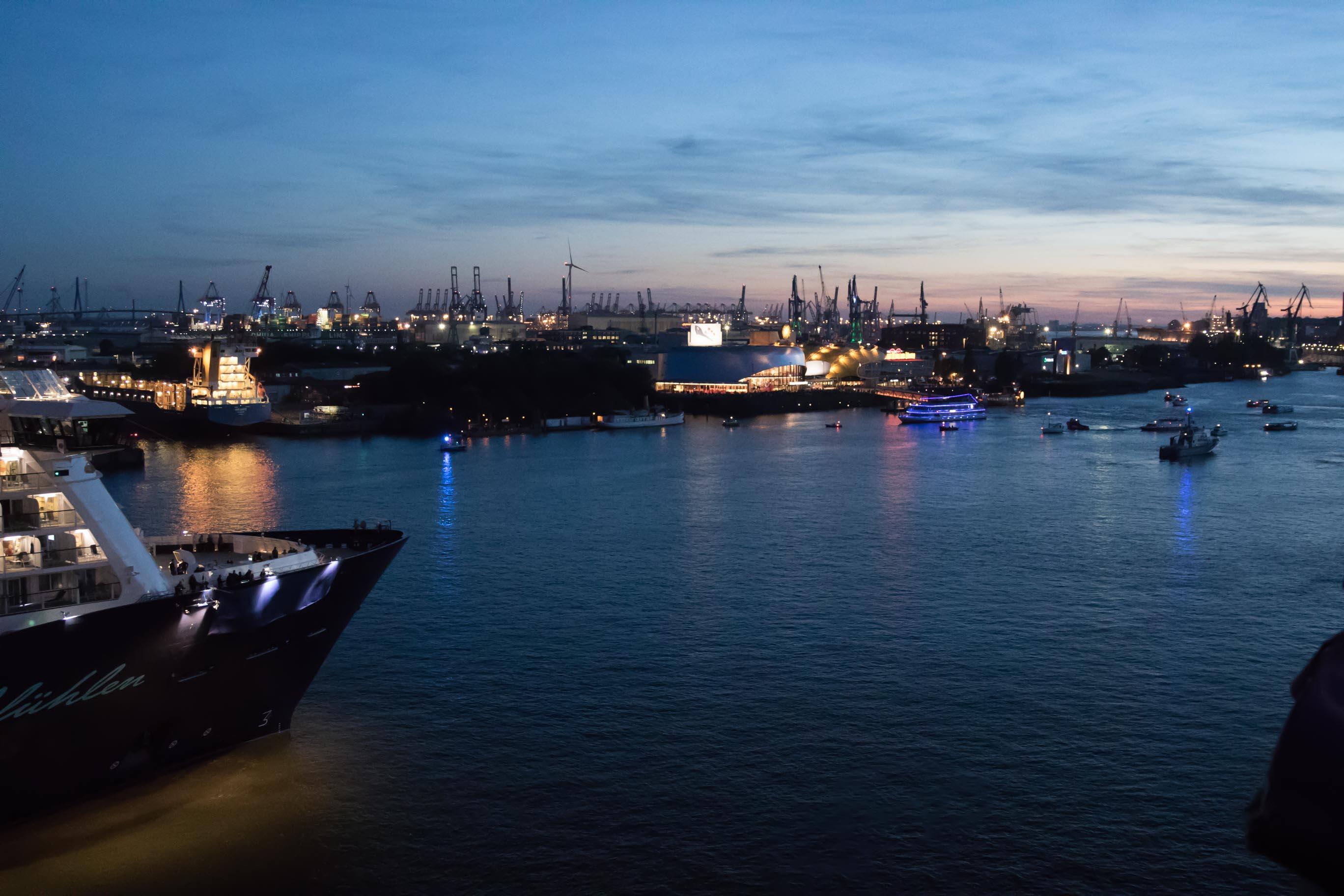 Mein Schiff 6 Die Taufparty Im Hamburger Hafen Vor Der