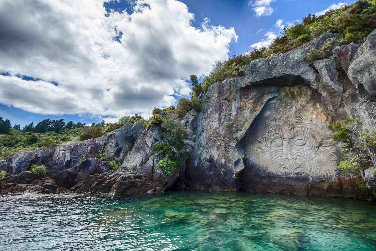 Neu Seeland, Maori Fresko