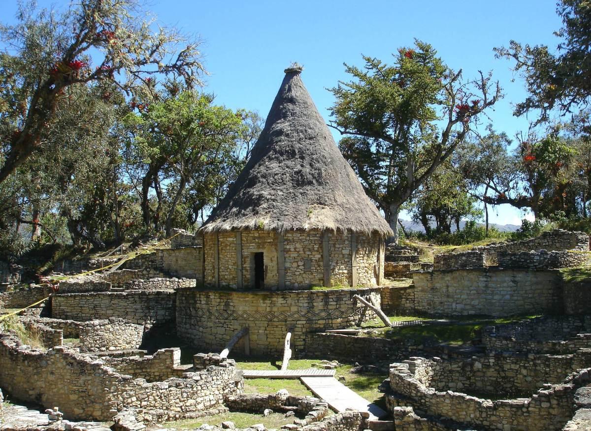 Gebäude in Peru