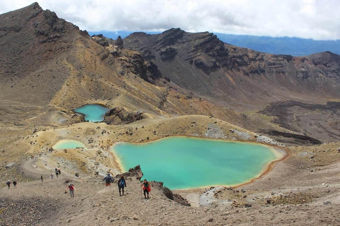 Wandern Tongariro Northern Circuit