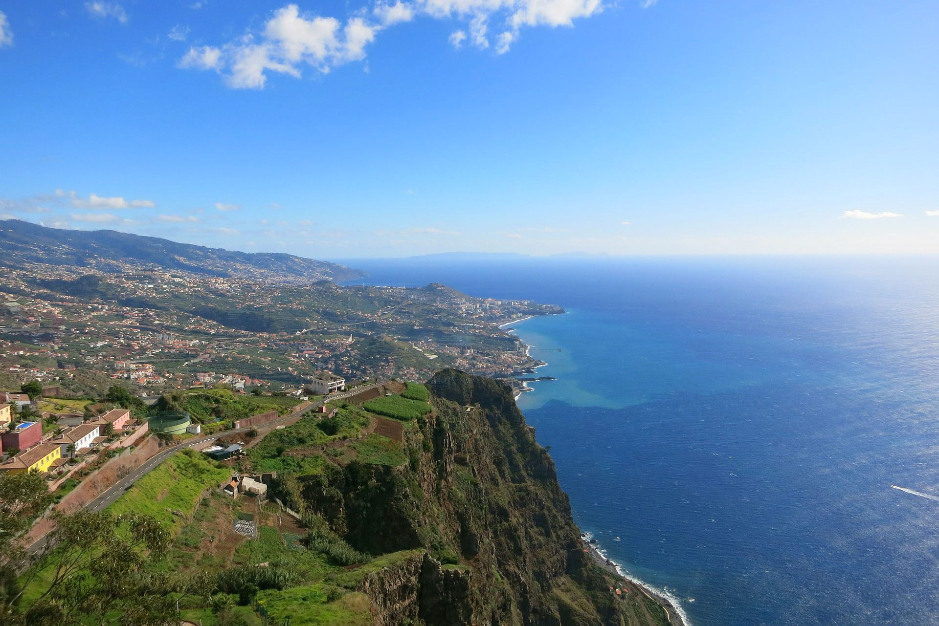 Blick auf Madeira