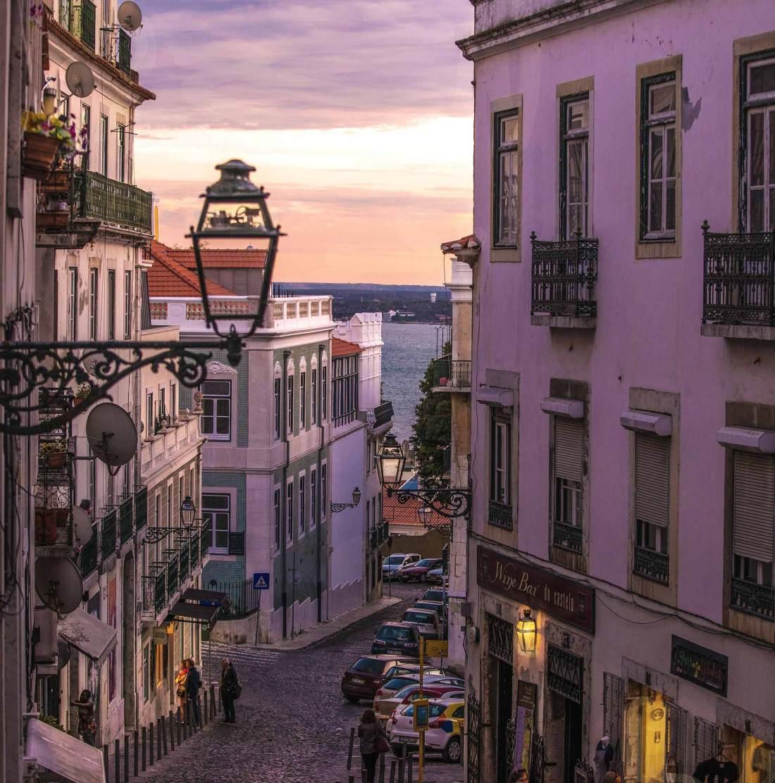 Lissabons romantische Atmosphäre