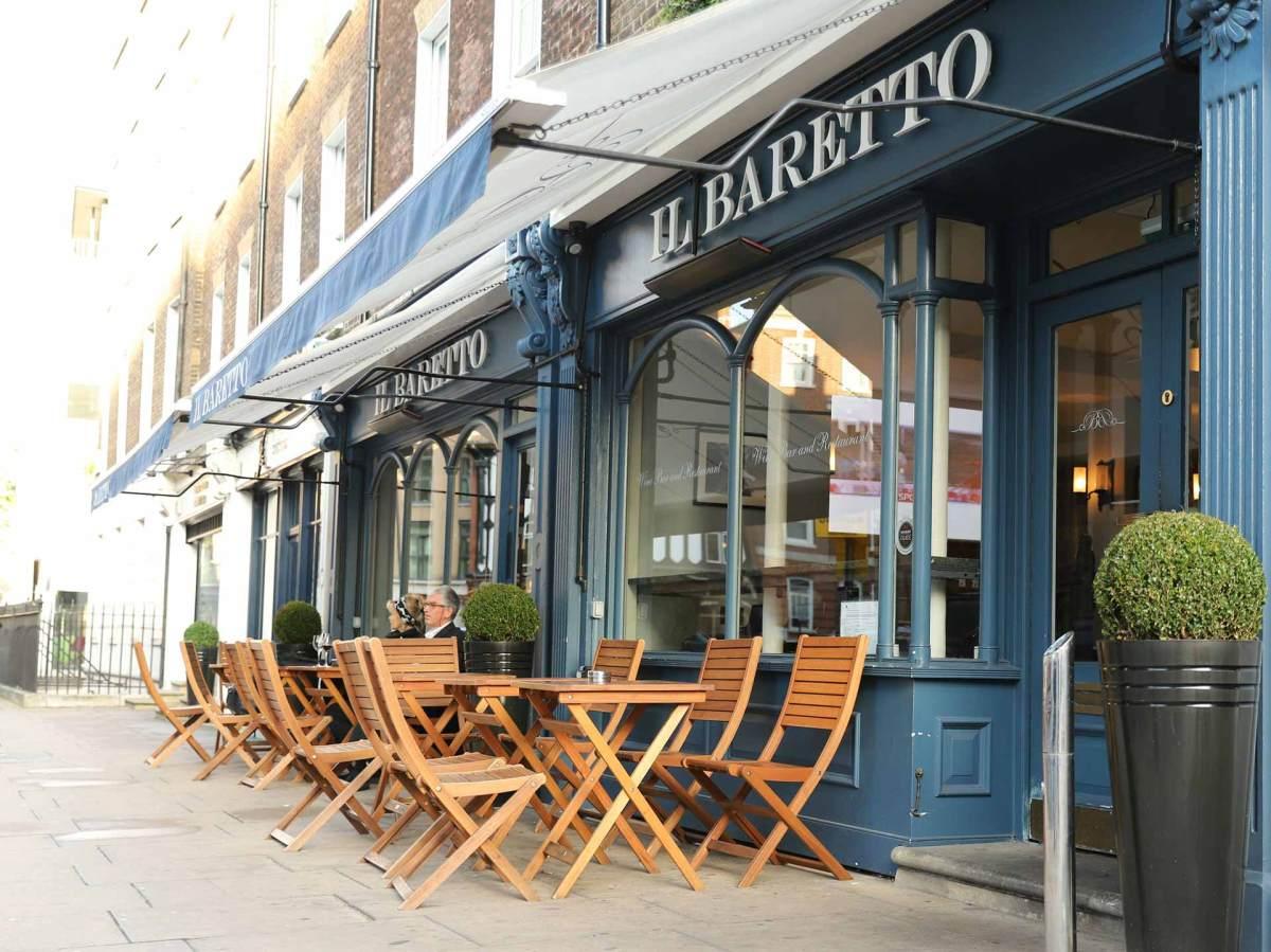 Das italienische Restaurant Il Baretto