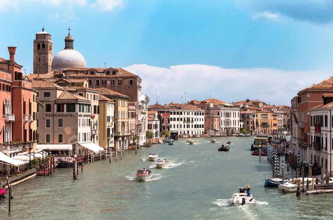 Der Canal Grande in Venedig
