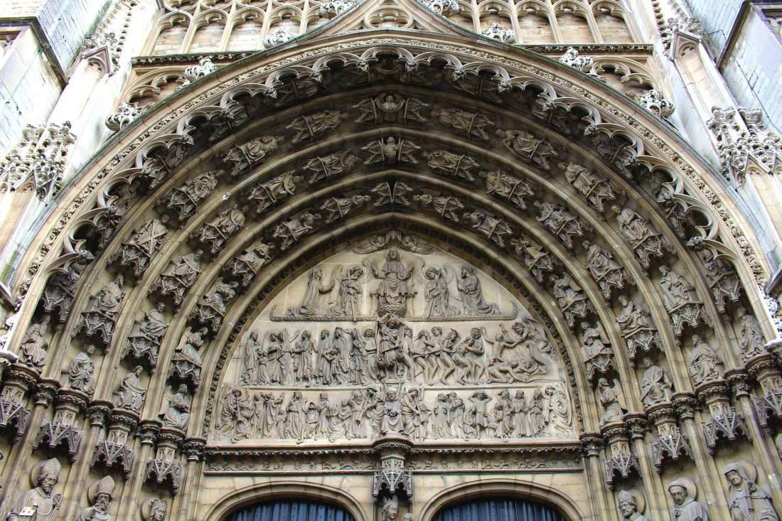 Details der Liebfrauchenkathedrale in Antwerpen