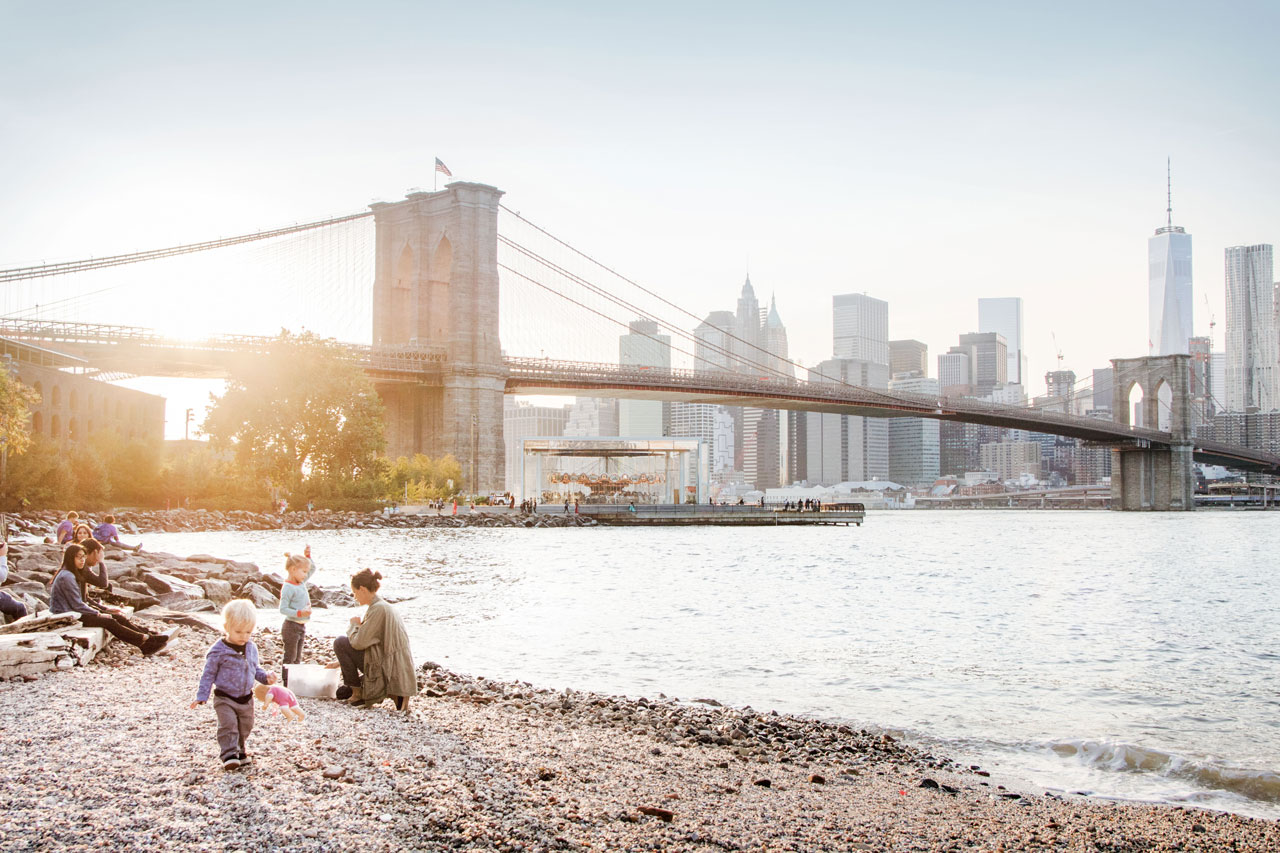 Die Brooklyn Bridge