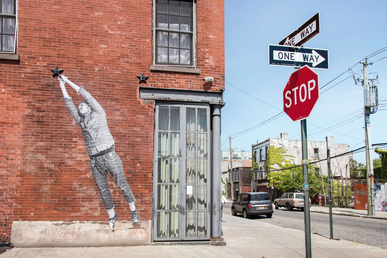 Das Viertel Red Hook in Brooklyn