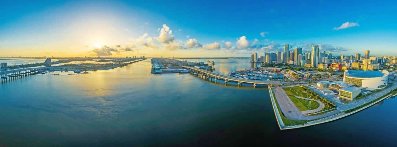 Panorama von Miami