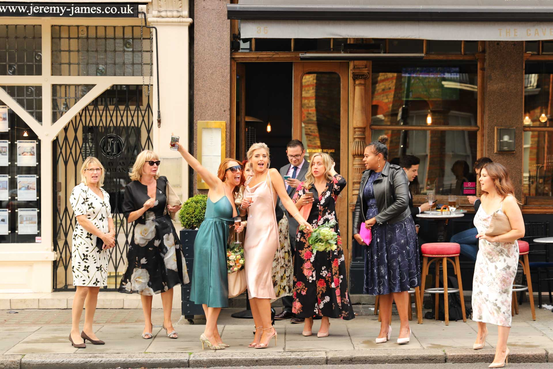Bachelorette Party in Marylebone