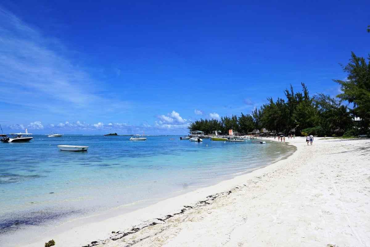 Strandwanderung Mauritius
