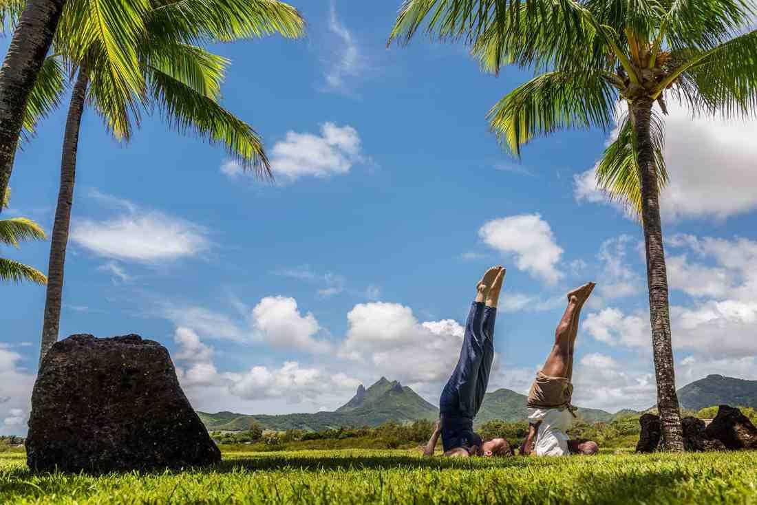 Yoga im Four Seasons Mauritius