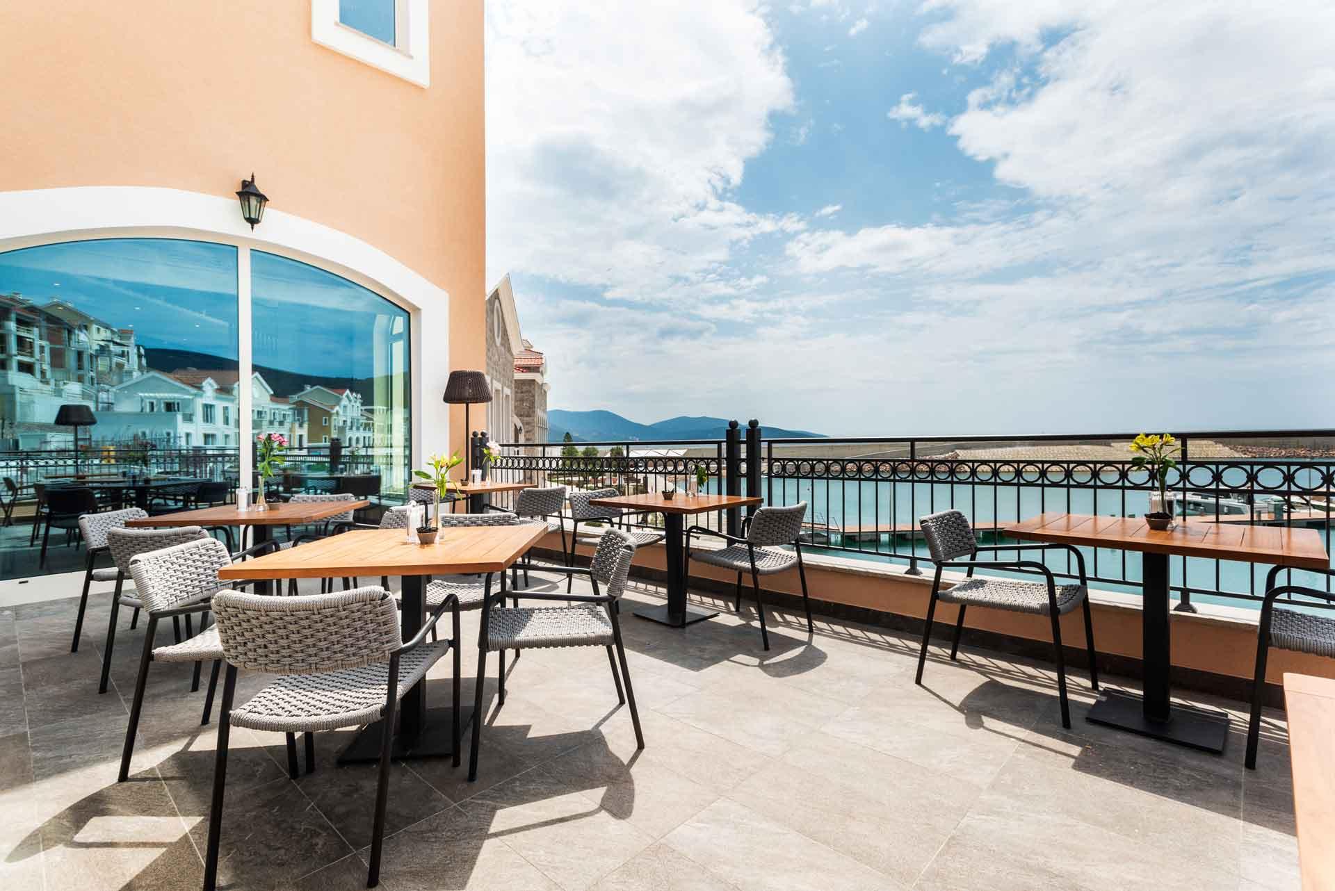 The Chedi Lustica Bay, Restaurant