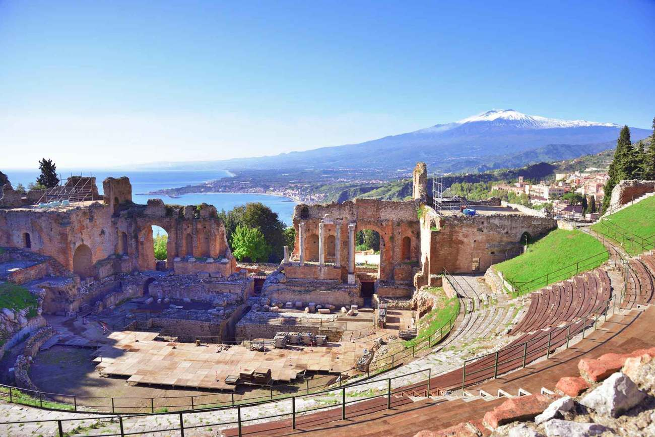 Antikes Theater von Taormina