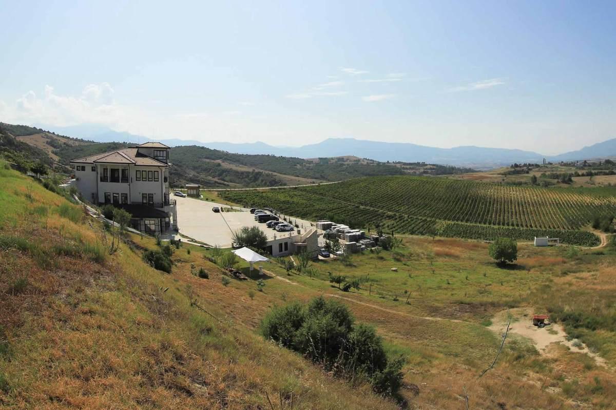 Villa Melnik in den Weinbergen