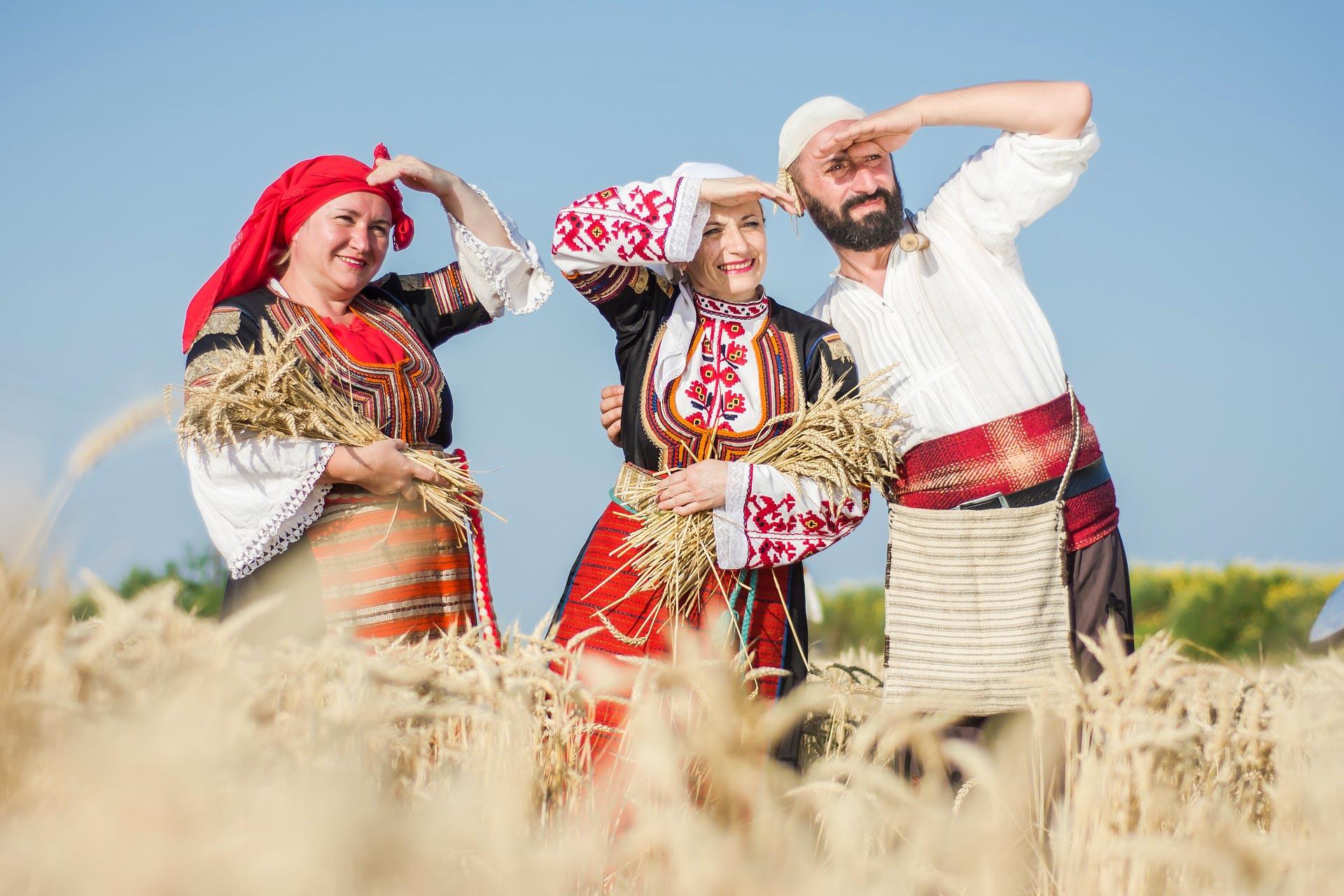 Moderne Bauern in Bulgarien