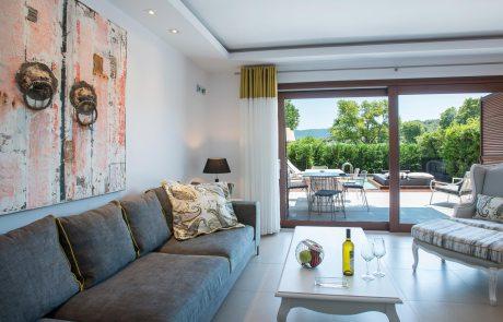 Luxury Suite mit Meerblick und privatem Pool