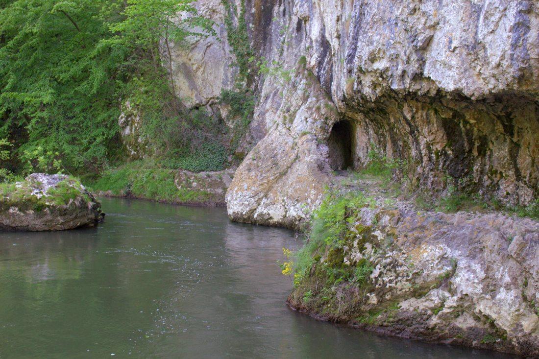 Alte Straße, Fluss - Rumänien