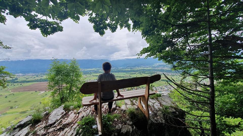 Wanderung Breznica - Zirovnica, Slowenien
