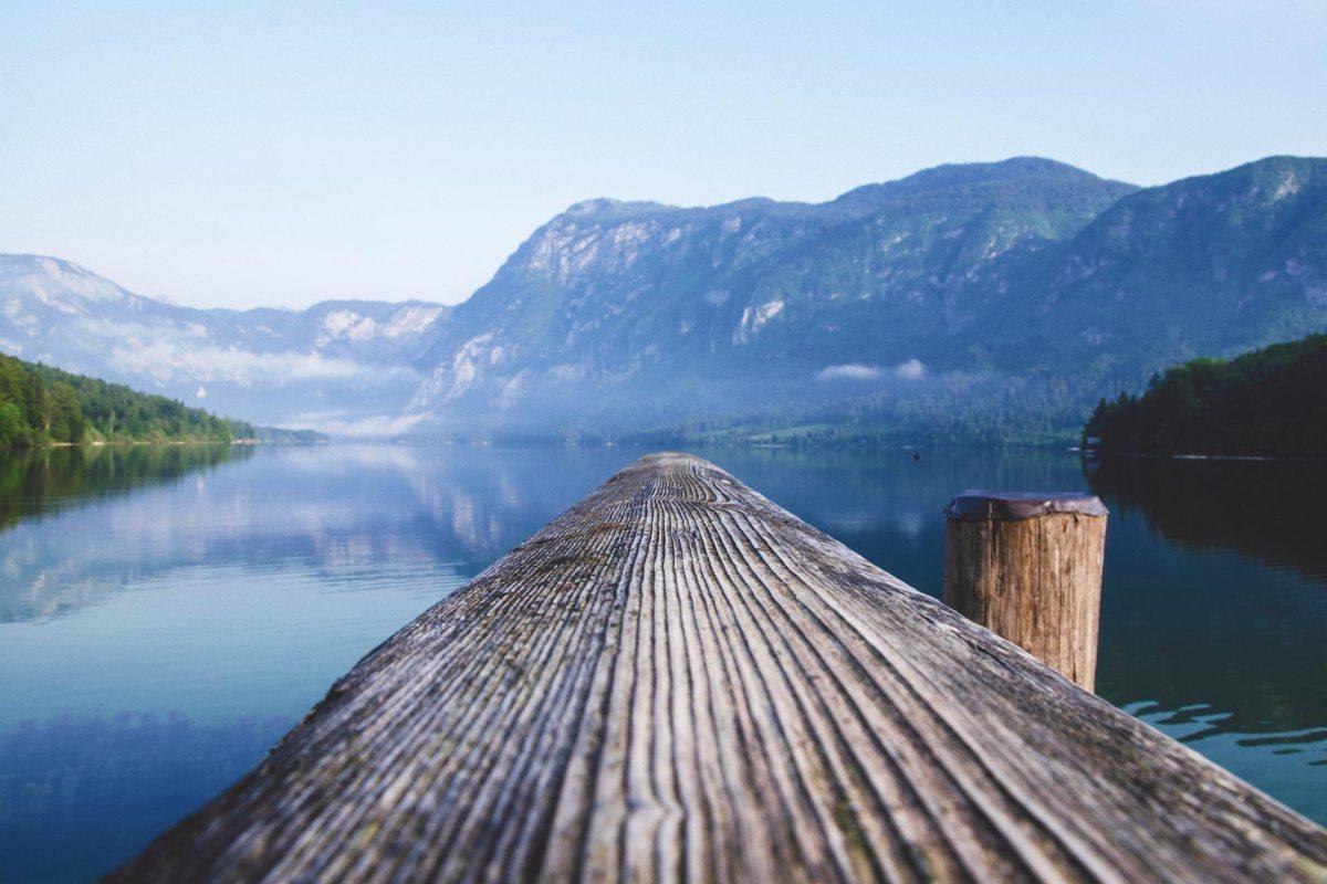 Slowenien - Alpensee