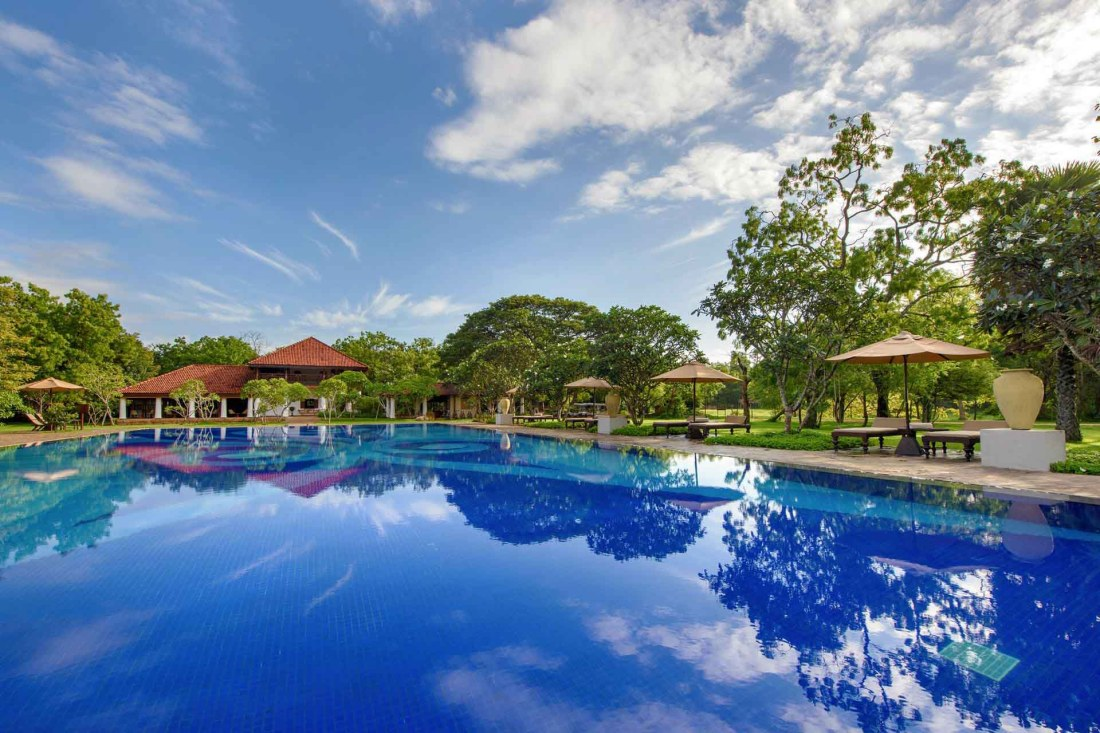 Pool in Ulagalla by Uga Escapes